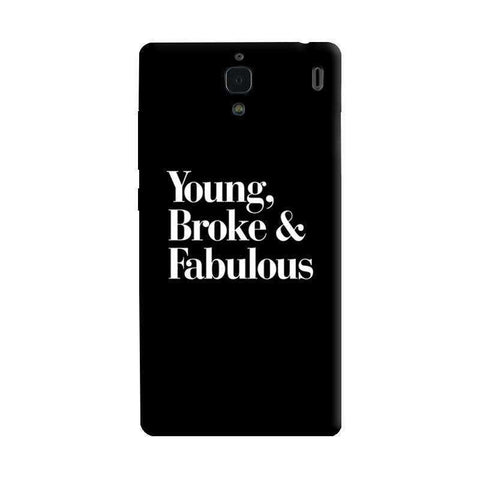 Young, Broke & Fabulous Xiaomi Redmi 1S Case
