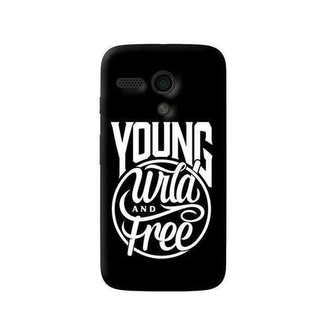 Young, Wild & Free Moto G Case