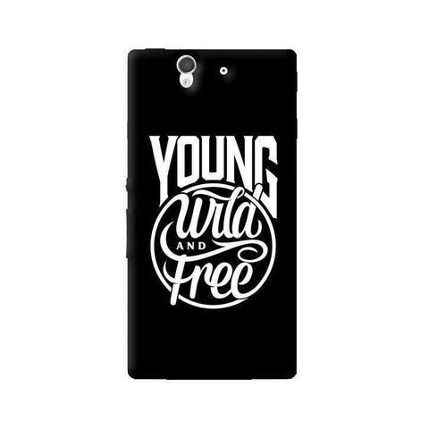 Young, Wild & Free Sony Xperia Z Case