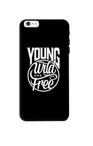 Young, Wild & Free Apple iPhone 6 Plus Case