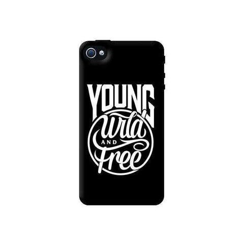 Young, Wild & Free Apple iPhone 4/4S Case