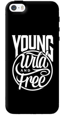 Young, Wild & Free Apple iPhone 5C Case