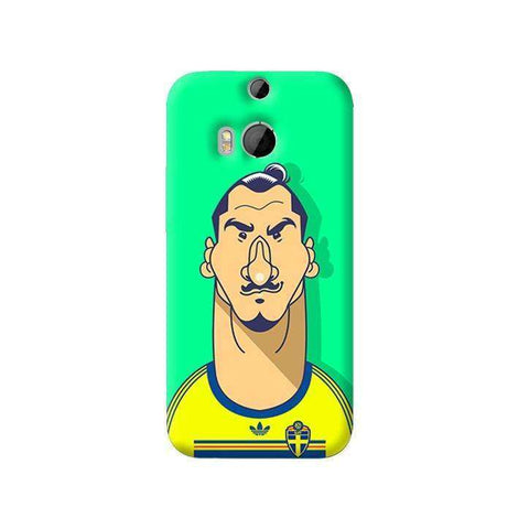 Zlatan   HTC One M8 Case