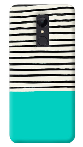 Aqua Stripes Redmi 5 Case