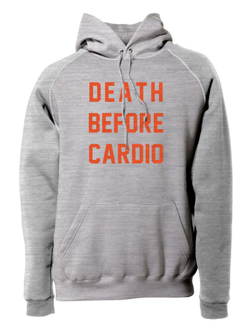 Death Before Cardio Pullover Hoodie
