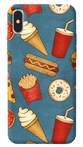 Fast Food iPhone X Cover