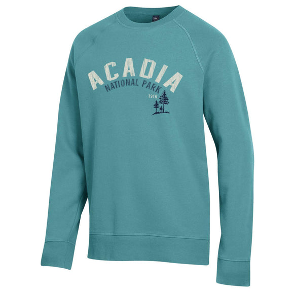 Acadia National Park Outta Town Trees L/S Crew