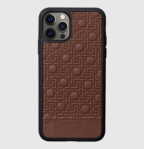 ZELLIGE CASE BROWN