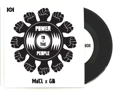 "MdCL & GB ""POWER TO THE PEOPLE"" 7-INCH"