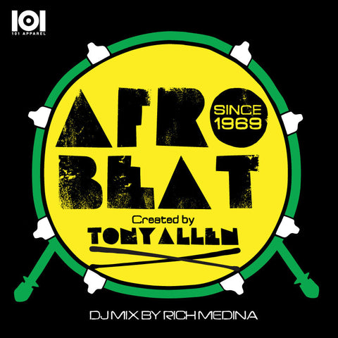 "TONY ALLEN ""AFRO BEAT"" MIX CD BY RICH MEDINA"