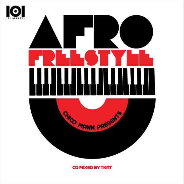 "CHICO MANN ""AFRO FREESTYLE"" MIX CD"