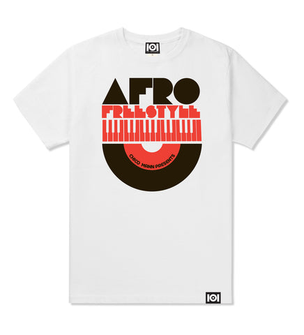 "CHICO MANN ""AFRO FREESTYLE"" MIX CD & T-SHIRT"