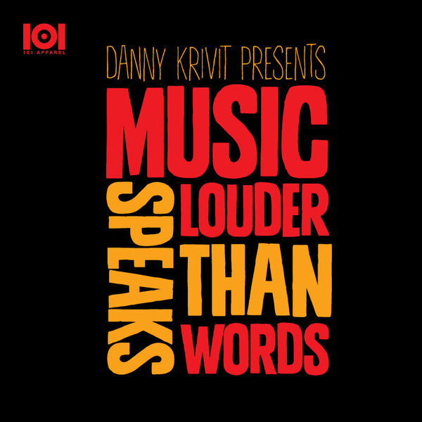 "DANNY KRIVIT  ""MUSIC SPEAKS LOUDER THAN WORDS"" MIX CD"