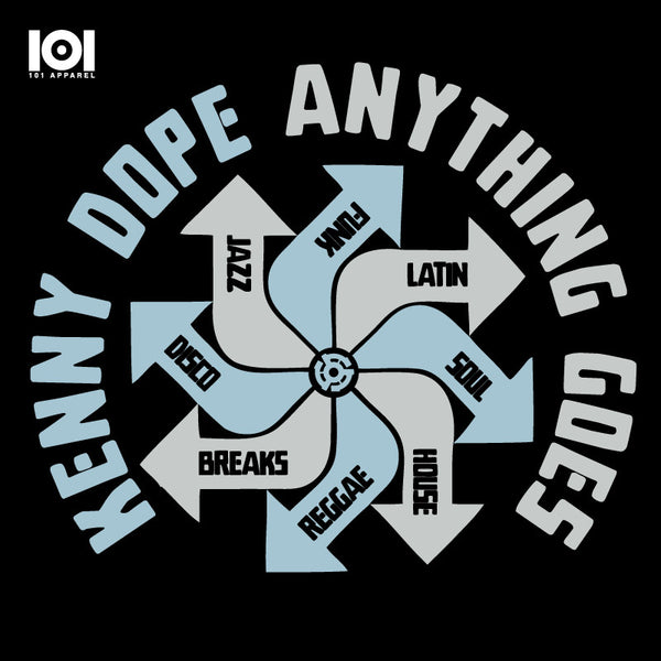 "KENNY DOPE ""ANYTHING GOES"" MIX CD"