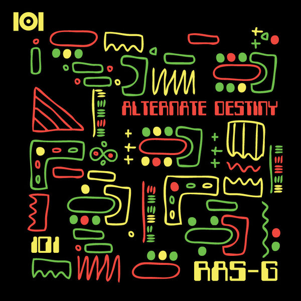 "RAS G & THE AFRIKAN SPACE PROGRAM ""ALTERNATE DESTINY"" MIX CD"