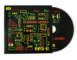 "RAS G & THE AFRIKAN SPACE PROGRAM ""ALTERNATE DESTINY"" T-SHIRT W/MIX CD & 7-INCH VINYL"