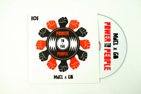 "MdCL & GB ""POWER TO THE PEOPLE"" MIX CD"