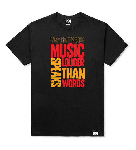 "DANNY KRIVIT ""MUSIC SPEAKS LOUDER THAN WORDS"" MIX CD & T-SHIRT"