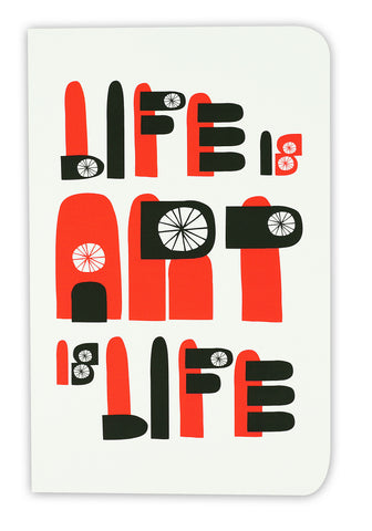 Life Is Art Is Life - Limited Edition Sketchbook