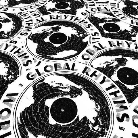 GLOBAL RHYTHMS  DJ SLIPMATS - FREE W ORDERS OVER $100