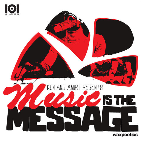 "KON & AMIR ""MUSIC IS THE MESSAGE"" MIX CD"