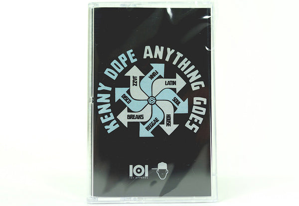 "KENNY DOPE  ""ANYTHING GOES"" CASSETTE"