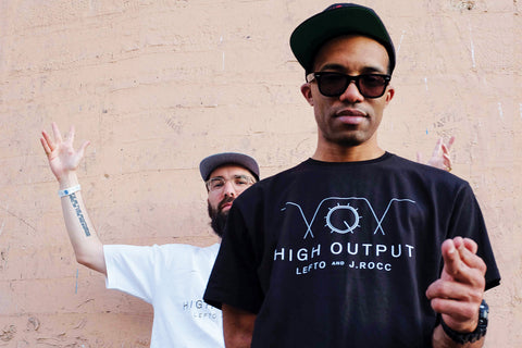 "LEFTO & J.ROCC ""HIGH OUTPUT"" MIX CD, T-SHIRT & LIMITED EDITION 7-INCH VINYL"