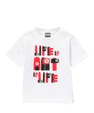 KIDS LIFE IS ART IS LIFE T-SHIRT