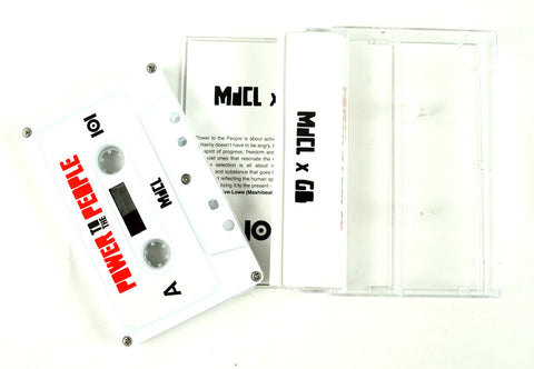 "MdCL & GB ""POWER TO THE PEOPLE"" CASSETTE"