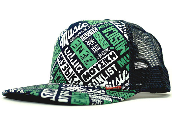 MUSIC - UNIVERSAL LANGUAGE CUSTOM TRUCKER HAT
