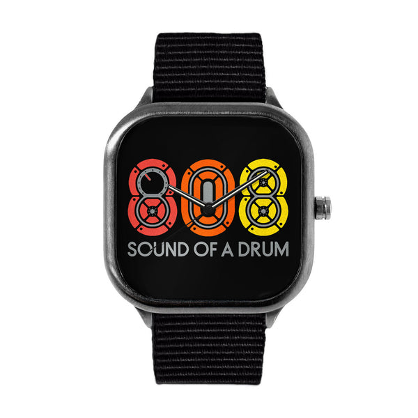 "LIMITED EDITION ""808"" METAL WATCH"