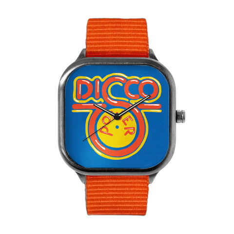 "LIMITED EDITION ""DISCO"" METAL WATCH"