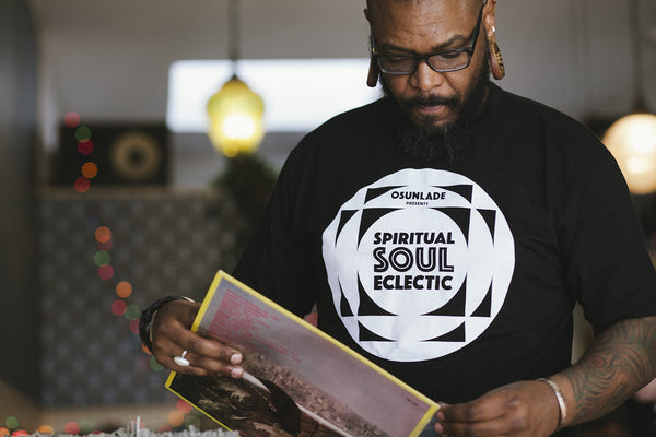 "OSUNLADE ""SPIRITUAL SOUL ECLECTIC"" MIX CD, T-SHIRT & LIMITED EDITION 7-INCH VINYL"