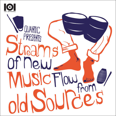 "QUANTIC ""STREAMS OF NEW MUSIC FLOW FROM OLD SOURCES"" MIX CD"