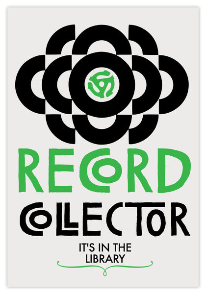 RECORD COLLECTOR - PRINT