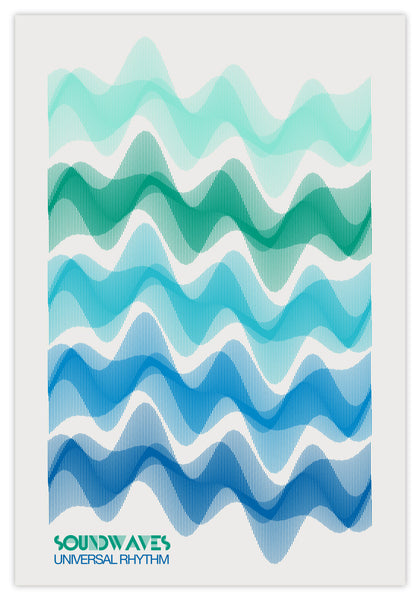 SOUND WAVES - PRINT