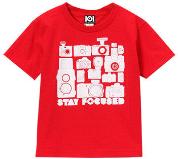 KIDS  STAY FOCUSED SHIRT