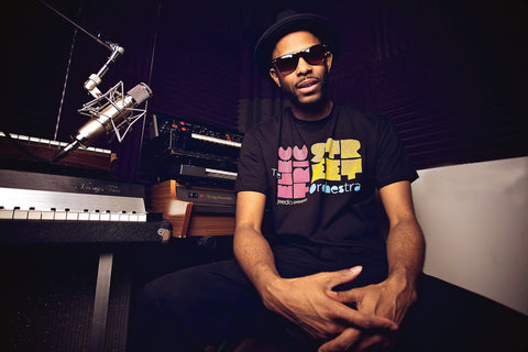 "WAAJEED ""ELECTRIC STREET ORCHESTRA"" MIX & T-SHIRT"