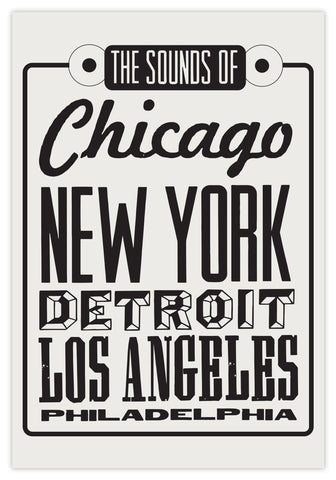 SOUNDS OF THE CITY - PRINT