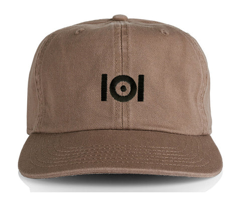 101 LOGO TRUCKER HAT - BLACK