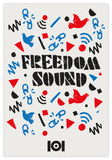 FREEDOM SOUND - NAVY W/POSTER