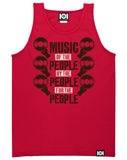 MUSIC OF THE PEOPLE TANK TOP