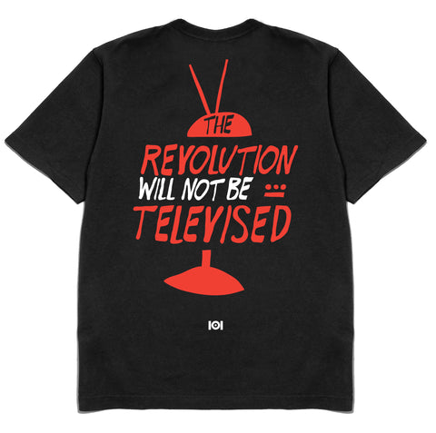 THE REVOLUTION WILL NOT BE TELEVISED - BLACK