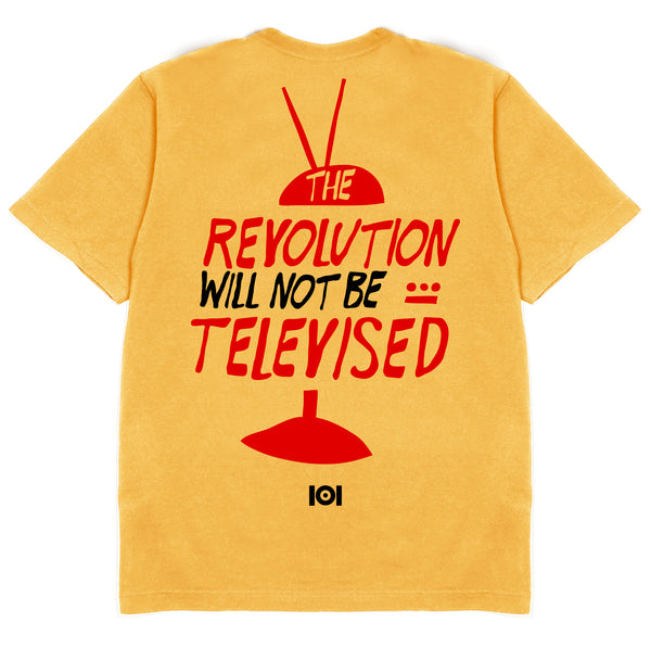 THE REVOLUTION WILL NOT BE TELEVISED - GOLD