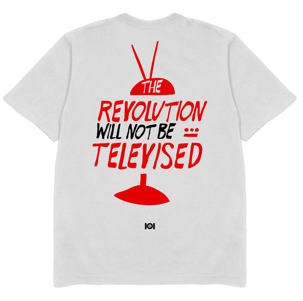 THE REVOLUTION WILL NOT BE TELEVISED - WHITE