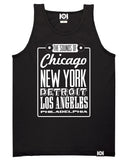 SOUNDS OF THE CITY TANK TOP