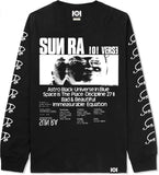 SUN RA LONG SLEEVE - BLACK
