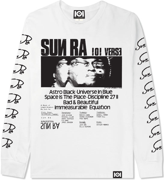 SUN RA LONG SLEEVE - WHITE