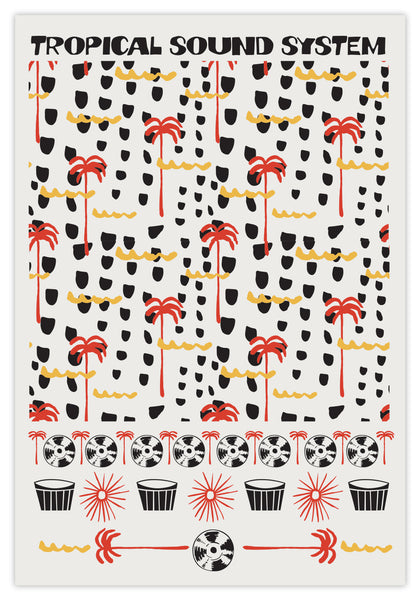TROPICAL SOUNDS - PRINT