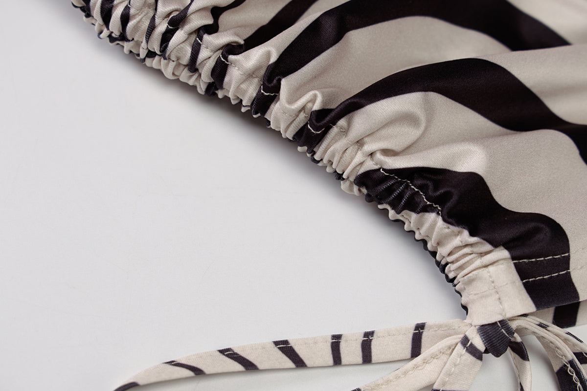 """Animalistic"" Zebra Print Dress"